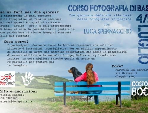 CORSO BASE DI FOTOGRAFIA CON LUCA SPENNACCHIO